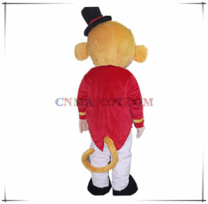 Funny Monkey Mascot Costume with a Black Hat pictures & photos