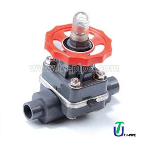 PVC CPVC PVDF PP Diaphragm Valves DIN ANSI pictures & photos
