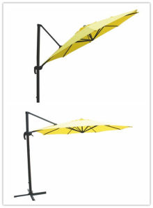 Hz-Um102 10ft Round Roma Umbrella Outdoor Umbrella Sun Parasol Beach Umbrella for Garden Umbrella pictures & photos