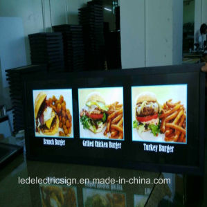 Menu Board Acrylic Light Box with Light Box Menu Board pictures & photos
