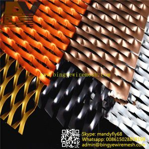 PVC Spraying Aluminum Expanded Metal Mesh pictures & photos