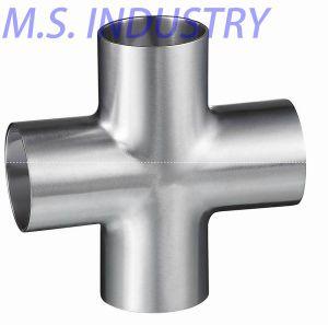 Sanitary Stainless Steel Weld Cross