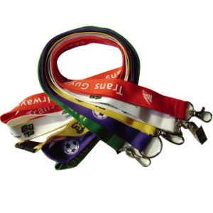 Factory Direct Customized Lanyard with Printed Logo pictures & photos