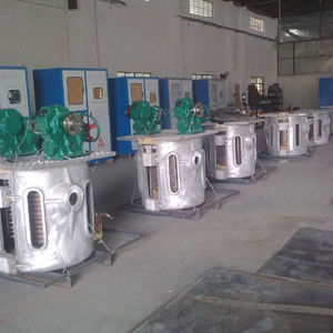 Iron, Copper, Metal Smelting MID-Frequency Industrial Induction Melting Furnace pictures & photos