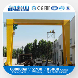 Single Girder Electric Hoist Gantry Crane pictures & photos