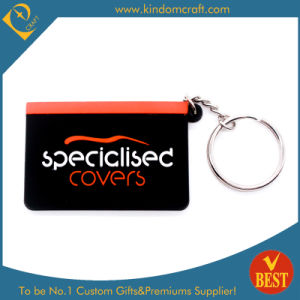 Custom Card Shape PVC Keychain Design (KD0505) pictures & photos