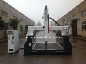 4 Axis CNC Large Router Machine with Head Rotate 180 Degree pictures & photos