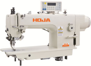 Heavy Duty Top and Buttom Feed Lockstitch Sewing Machine Hj0303D