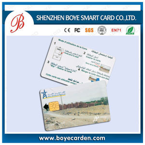 Rewritable Plastic Contact Smart Card with Sle4442 Chip Model pictures & photos