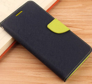Leather Cover for Wholesale Double Color for Samsung Note4/Note5 pictures & photos