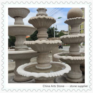 Granite and Marble Stone Fountain for Public Square pictures & photos