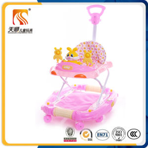 China Hot Sale Folding Rocking Baby Walker Go Round with Pushbar pictures & photos