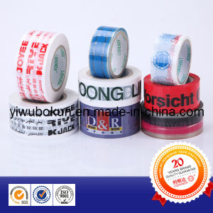 BOPP Printing Tape with Customized Logo and Design (BK214) pictures & photos