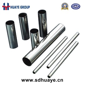 AISI 201 Aod Stainless Steel Welded Pipe/Tube pictures & photos