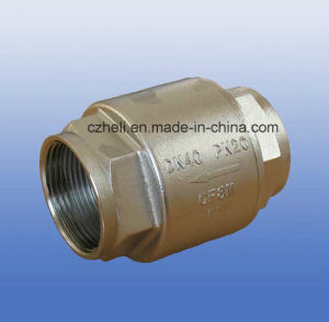 Stainless Steel Vertical Spring Check Valve pictures & photos