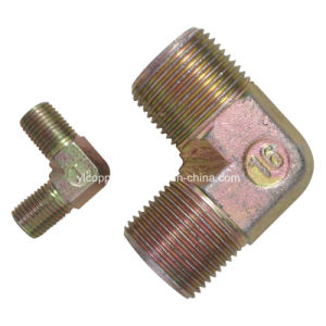 90 Degree Hydraulic Male Connector pictures & photos