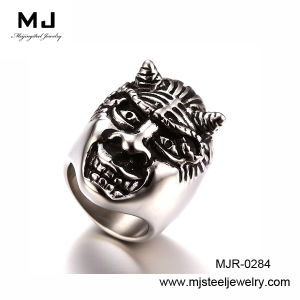 Skull Fashion Stainless Steel Rings Mjr-0284