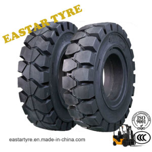 4.00-8 Forklift Solid Tire of China ISO Manufacturer Wholesale pictures & photos