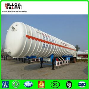 China Trailer Manufacturer LNG Gas Tanker Trailer pictures & photos