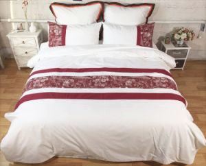 Red -Wine Color Patchwork Bedding Sets pictures & photos