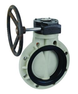 Butterfly Valve with Worm-Gear Actuator pictures & photos