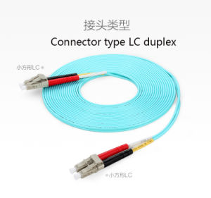 Om3 Fiber Patch Cord High Quality 10g Fiber Dual LC Connector pictures & photos