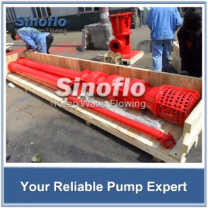 NFPA20 Lineshaft Overhung Vertical Turbine Electric Fire Pump pictures & photos