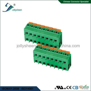 PCB Spring Terminal Block Connector Straight 180deg Type pictures & photos