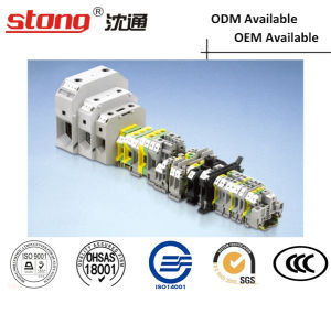 Stong DIN Rail Type Terminal Block pictures & photos