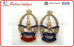 High Quality Gold Plated Police Badges pictures & photos