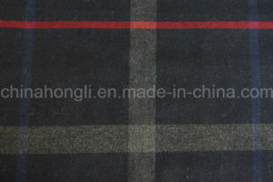 Poly/Rayon Yarn Dyed Fabric, Plaid, 220GSM pictures & photos