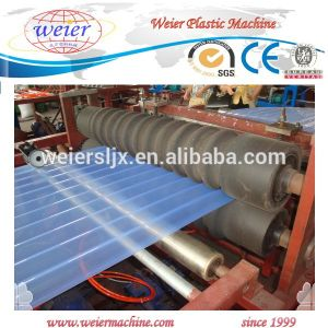 PVC Transparent Roofing Sheet Production Line pictures & photos