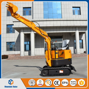 Chinese 2017 New Style 800kg Mini Excavator Digger with Various Attachments pictures & photos