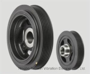 Torsional Vibration Damper / Crankshaft Pulley for Toyota 13470-22021 pictures & photos