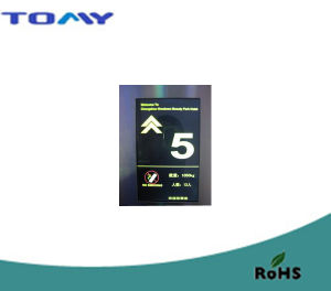 Va LCD Display for Lift and Elevator with RoHS pictures & photos