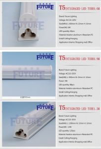 China CE RoHS 0.6m 6W LED Tube Lamp T5 LED pictures & photos
