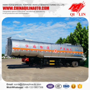Diethyl Ether Storage Tank Semi Trailer with 3 Compartments pictures & photos