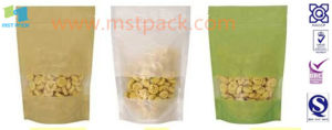 Snack Pack Stand-up Zip Pouches pictures & photos