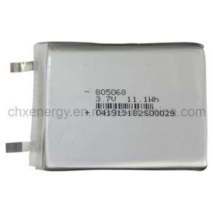 Rechargeable Polymer Li Ion Battery Cell for Camera/Cellular Phone 3.7V