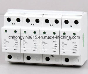 High Quality Power Ly6-X Strip Surge Protector SPD pictures & photos