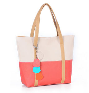 Elegant Female Big Bags Women′s PU Leather Handbag