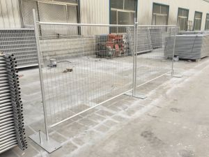 2.1m Height X 2.4m Width Hot Dipped Galvanized Temp Site Fencing Panels pictures & photos