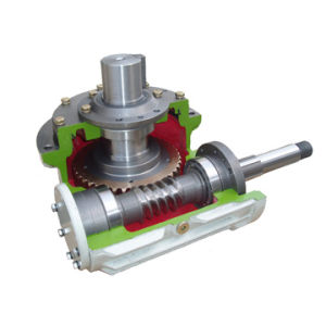 Torque Arm Mounted Cone Worm Gearbox pictures & photos