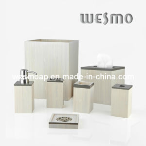 White-Washed Paint Bamboo Bathroom Hardware (WBB0450A) pictures & photos