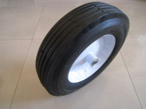 Solid Wheel (4.00-8) . Rubber Wheel pictures & photos