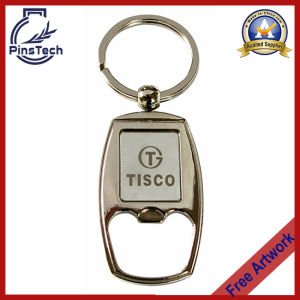 Customized Bottle Opener Keychain with Insert Logo