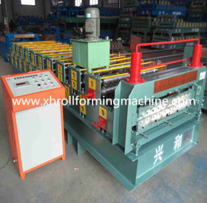 Double Layer Roof and Wall Color Steel Forming Machine (XH860-900) pictures & photos