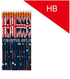 Hb Wooden Pencil with Eraser pictures & photos