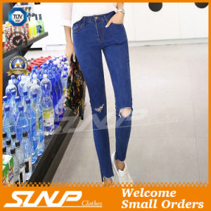 High Waist Skinny Stretch Lady Long Jean Pants Clothing