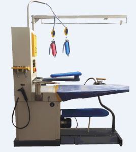 Suction Blast Ironing Table with Spotting Function and Build-in Boiler pictures & photos
